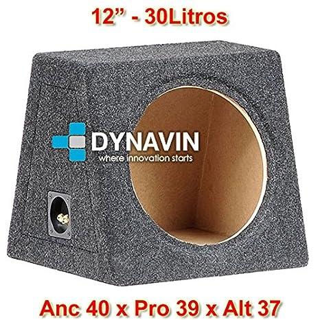"""Caja acústica universal para subwoofer de 8"""" (200mm), 10"""" (250mm"""