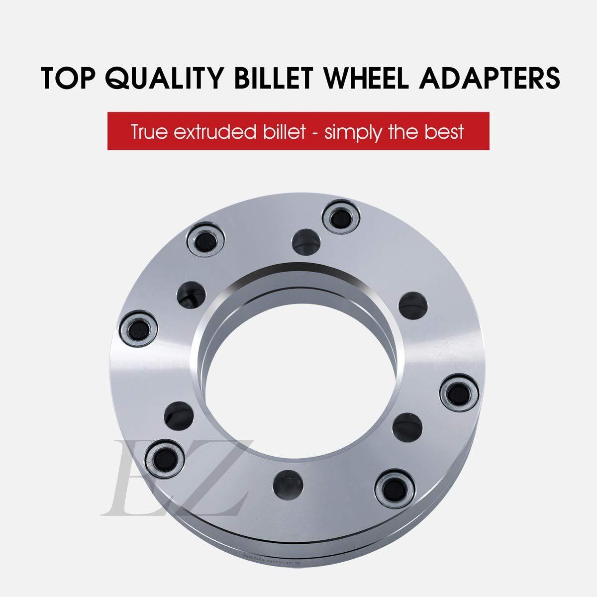 Wheel Adapter 6 Lug 55 To 8 65 Pair Automotive 2008 Toyota Tundra Trailer Wiring