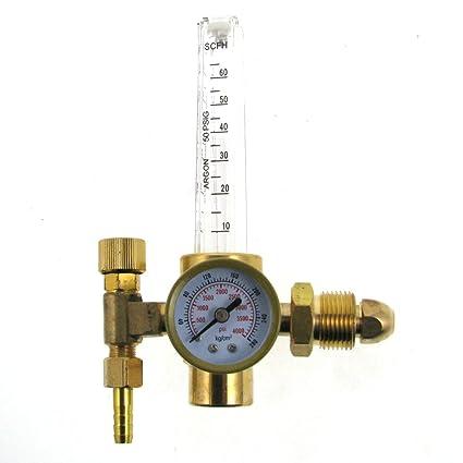 MIG/TIG soldadura Argon Co2 Caudalímetro 10 A 60 CFH regulador