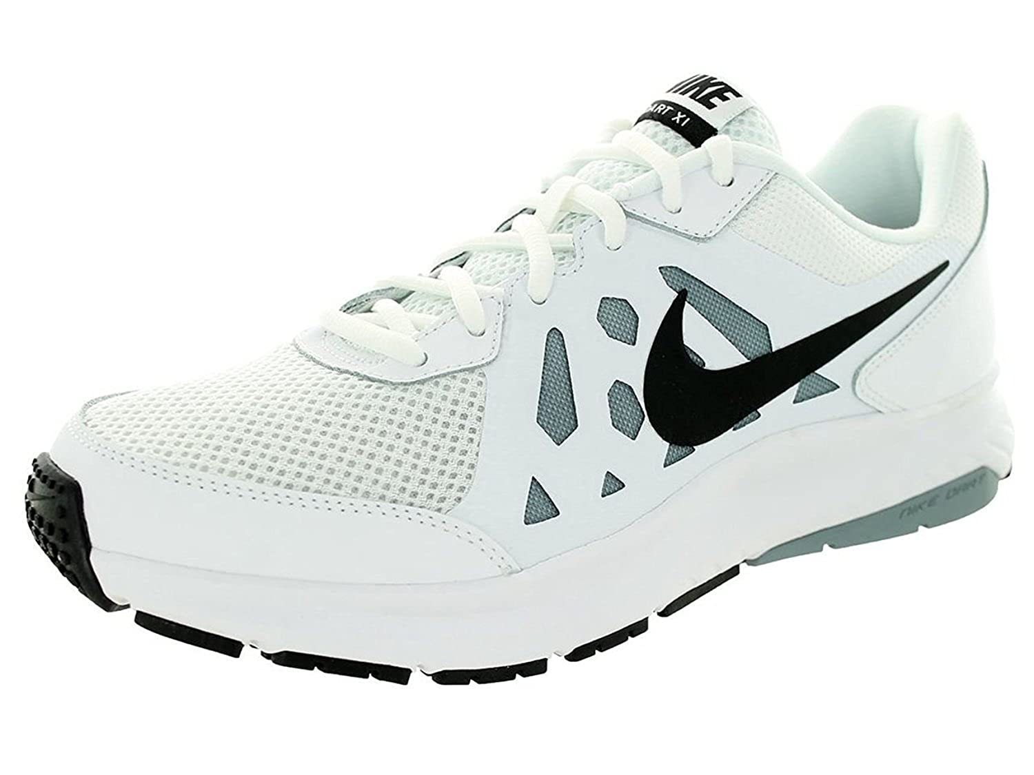size 40 18885 b3e0e Nike Mens Dart 11 - White Black-Dove Grey-White - 7  Buy Online at Low  Prices in India - Amazon.in