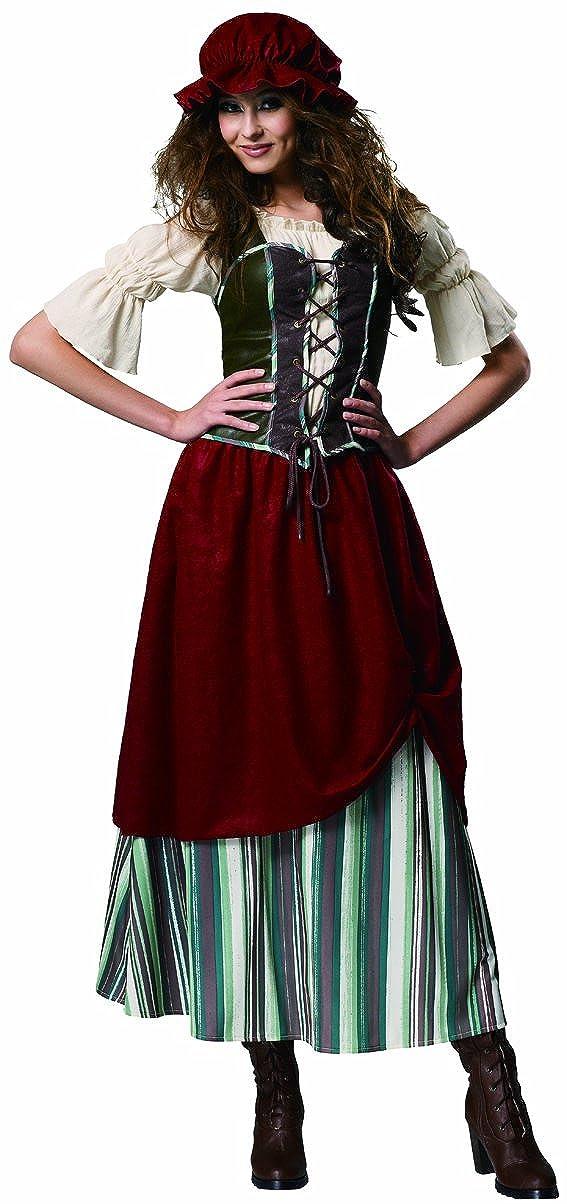 d6723dd64 Amazon.com  Medieval Renaissance Tavern Wench Serving Girl Costume  (Medium)  Clothing