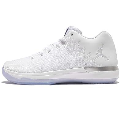best sneakers f5552 21392 Amazon.com | Jordan Kid's Air XXXI Low BG, WHITE/PURE ...