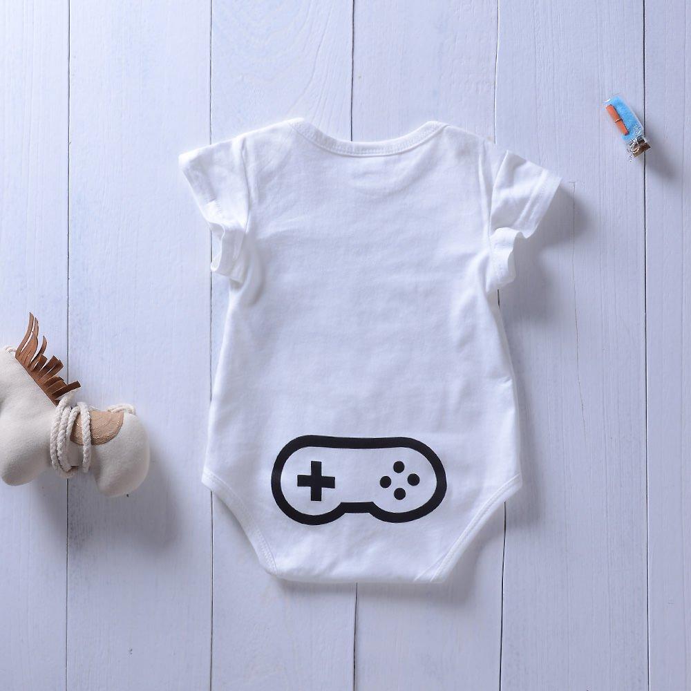 39dd5efe8 Amazon.com  Babywow Infant Baby Boys Girls Funny Letter Printed ...