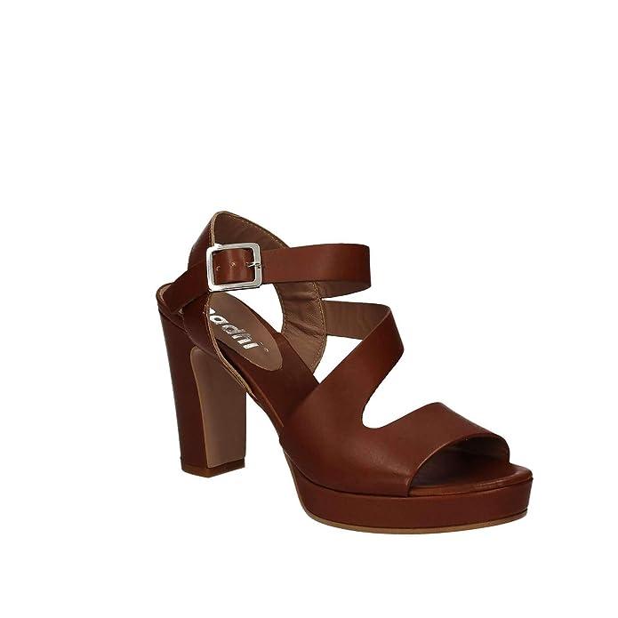 40 Mally es Sandalias Zapatos Amazon Marròn Mujeres 5180 Altos Y T0XfrT