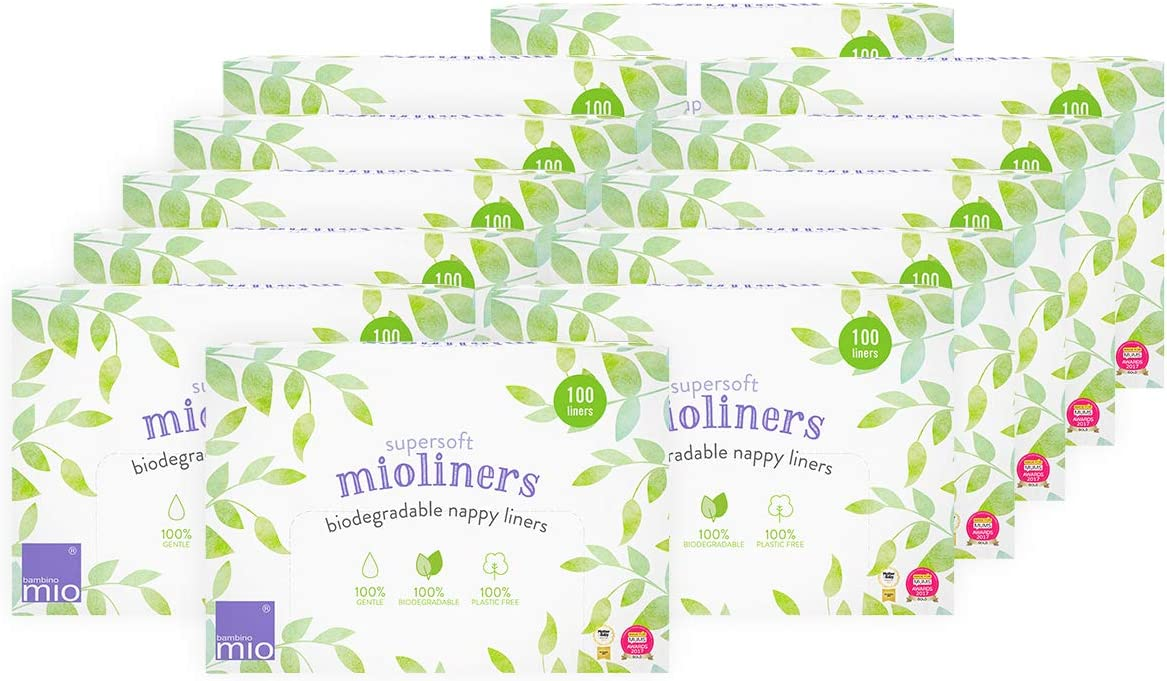 Diaper Liners Bambino Mio 5 Pack Supersoft Mioliners