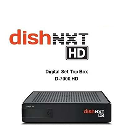 Dishtv Nxt HD Set Top Box With 1 Month Pack