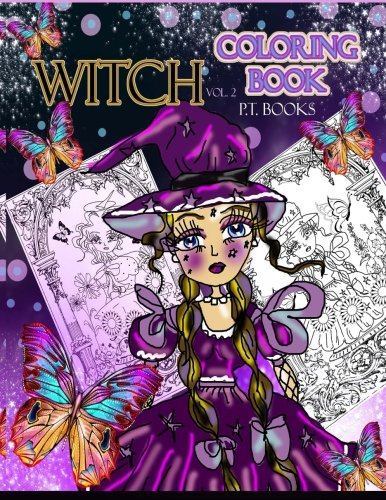 Witch Coloring Book : Volume 2. ebook