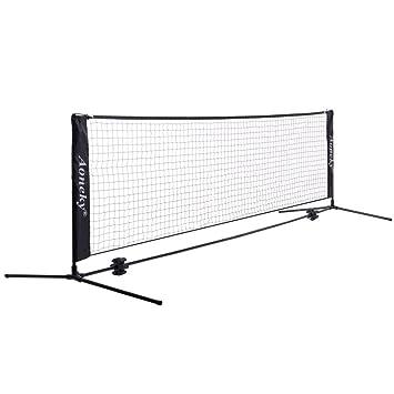 640915d0c5101d (アワンキー) Aoneky テニス ネット キッズ ジュニア 練習用 折り畳み 組立て簡単 収納袋付き