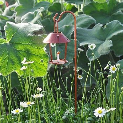 Georgetown Miniature Fairy Garden Lantern with Hook : Garden & Outdoor