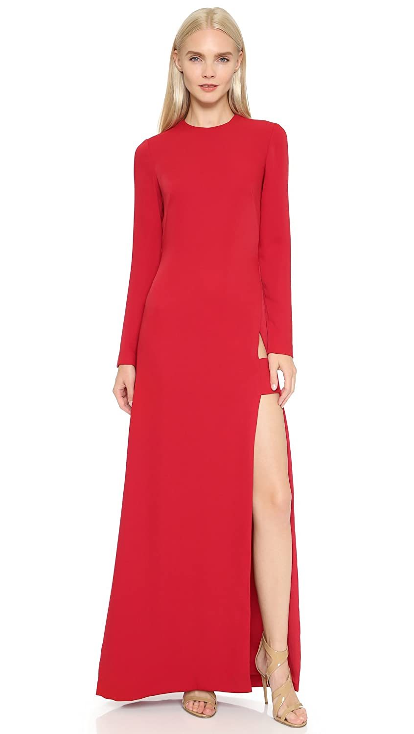 Amazon.com: Jill Jill Stuart Womens Long Sleeve Maxi Dress with Slit, Persimmon, 10: Clothing