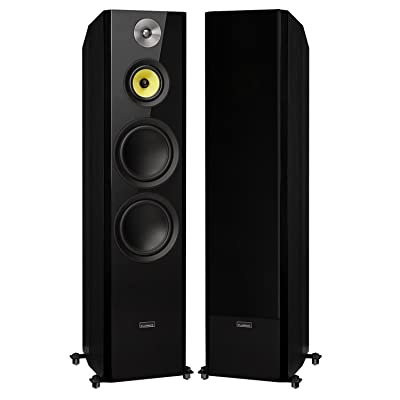 Fluance Signature Series Hi-Fi Three-Way Floorstanding Tower Speakers