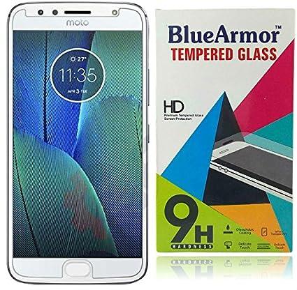 BlueArmor Moto G5s Plus Tempered Glass - Clear