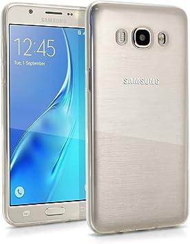 REY Funda Carcasa Gel Transparente para Samsung Galaxy J5 2016, Ultra Fina 0,33mm, Silicona TPU de Alta Resistencia y Flexibilidad: Amazon.es: Electrónica