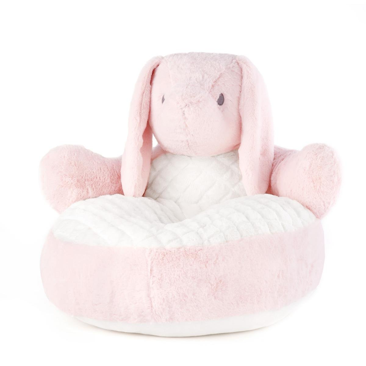 sc 1 st  Amazon.com & Amazon.com: DEMDACO Bindy Bunny Chair Pink/White: Baby