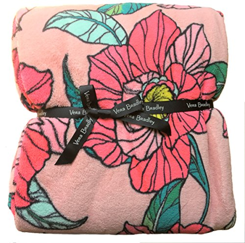 (Vera Bradley Throw Blanket (Vintage Floral))