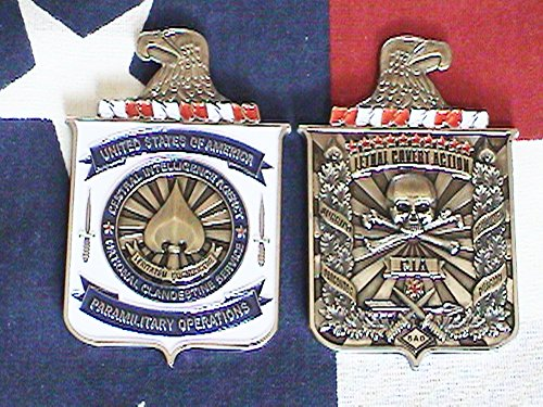 C.I.A. Paramilitary Operations Group, Lethal Covert Action Coin 3