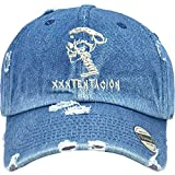 Allntrends Adult Dad Hat Skull XXXtentacion Embroidered Cap Cool Dad Hat