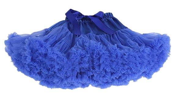 Happy cherry Falda de Princesa Disfraz Halloween Fiesta Tul Tutú Corto Falda de Ballet para 0-10 Años Bebés Niñas: Amazon.es: Ropa y accesorios