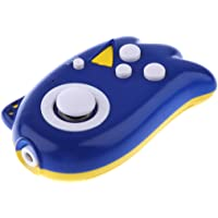 F Fityle MIPAD80 TV Game Mini Handheld Console Player Plug&Play W/ 89 TV Games Blue