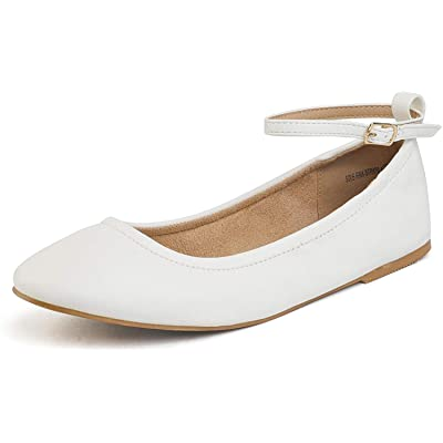 DREAM PAIRS Women's Solid Plain Walking Classic Ballet Flats Shoes | Flats