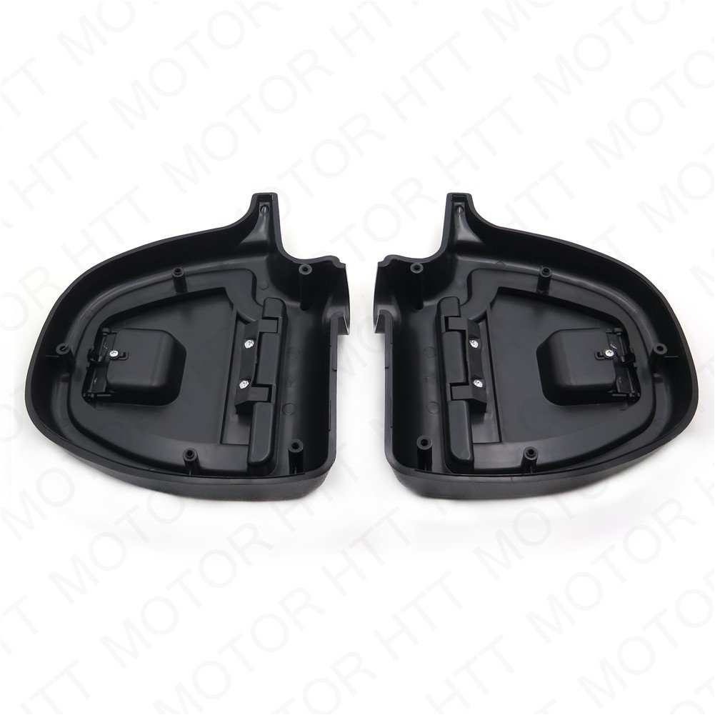 Latching Glove Box Doors /& Casings Lower Vented Fairing for Harley Touring 97-13