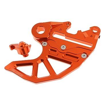 non-brand CNC Aluminium Bremsscheibenschutz F/ür KTM 125 530 EXC /& EXC F