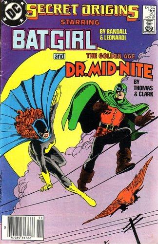 SECRET ORIGINS, #20 (COMIC BOOK) STARRING BATGIRL & DR. MID-NITE -