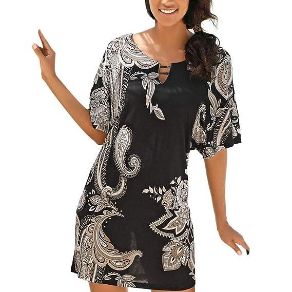 Amazon.com: Gran venta. Wintialy 2019 - Vestido de verano ...