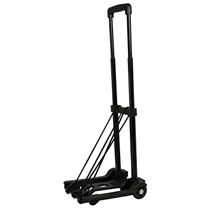 99019365da59 Gison 2 Wheels Foldable Luggage Cart Trolley Travel Folding Luggage ...