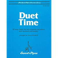 Image for SP2309 - Duet Time Book 1 - 10 Easy Duets for Two Soprano Recorders