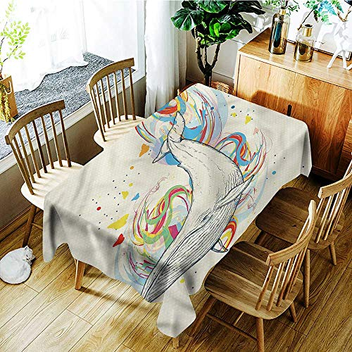 familytaste Whale,Wholesale tablecloths Whale in Ocean Dive 54