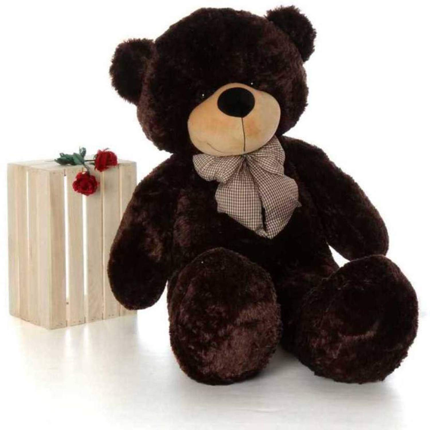 Click4Deal Teddy Bear Choclate Brown 4 Feet (121 Cm)