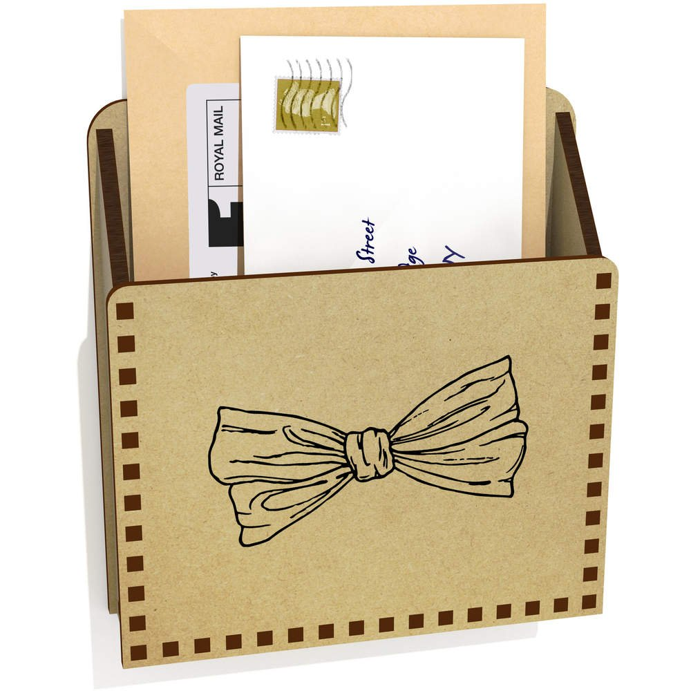 Corbata de Moño De Madera Carta Poseedor / Caja (LH00006095 ...