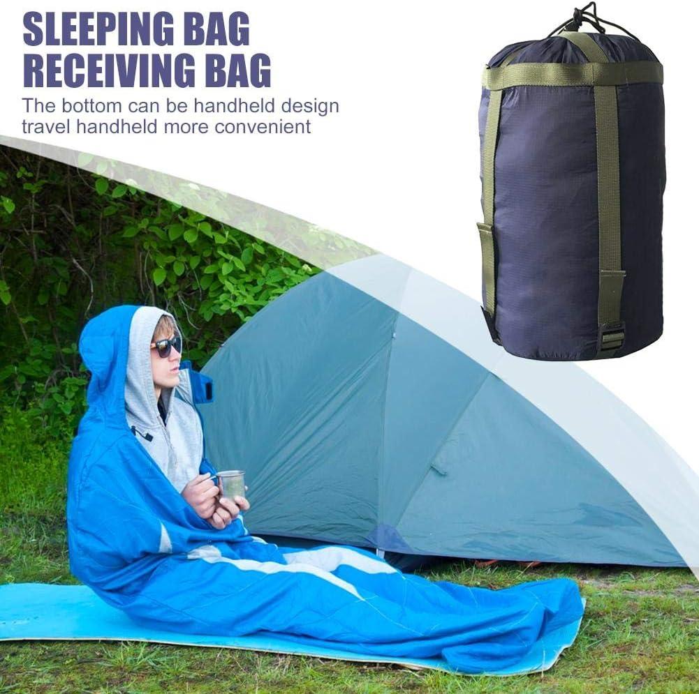 Vakind Sac de Couchage Ext/érieur Sac de Compression Sac de Rangement Portable L/éger et Compact pour Camping Loisirs Randonn/ée Aventure