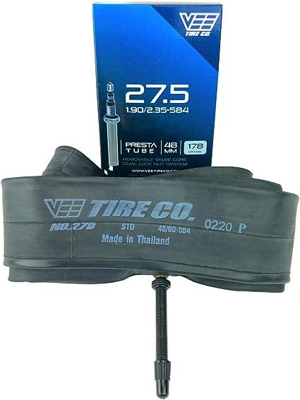 27.5x2.35 Vee Tire Bicycle Inner Tube 48mm French Presta Valve 27.5X2.35 Tube