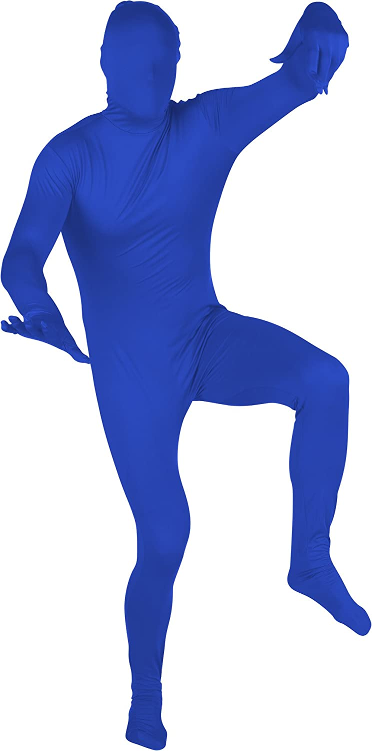 Capital Costumes Adult Spandex Second Skin Full Bodysuit Costume By Red Cup Pong - Toys COS-MORPH-GR