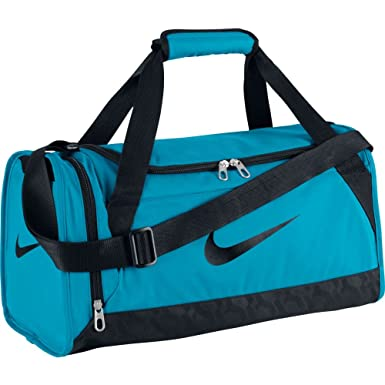 fdcd28372eaf Image Unavailable. Image not available for. Colour  Nike Brasilia 6. Extra  Small Gym Duffel Bag Blue Lagoon Black.