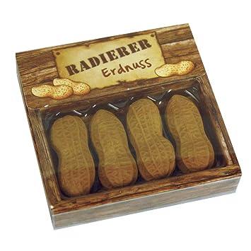Brunnen Erdnuss Radierer Fun Collection Erdnüsse Erdnuss 3 Stück  im Set
