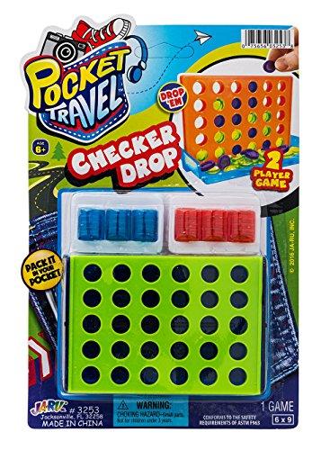 Checker Drop by JA-RU | Portable Board Game | Item #3253-1 -