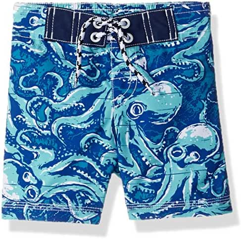 Gymboree Baby Toddler Boys' His Little Printed Swim Trunks