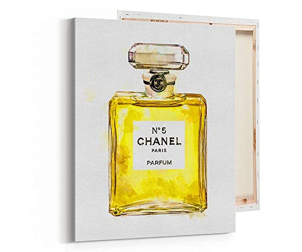 Amazoncom Wall Art Poster Print Coco Chanel Perfume Fashion