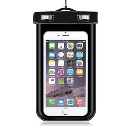 Amazon.com: Teléfono celular Funda impermeable seco bolsa ...