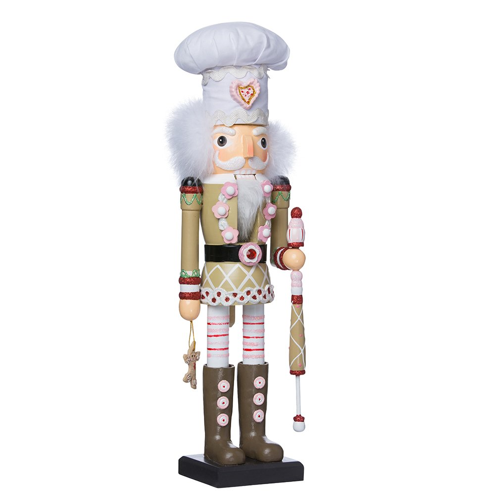 Hollywood Kurt Adler 17-Inch Gingerbread Nutcracker