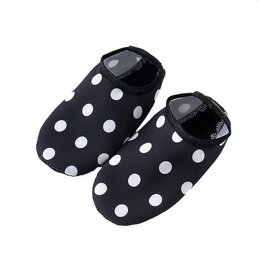 Nan Niño Niña Niño Zapatos de Agua de natación Calcetines de ...