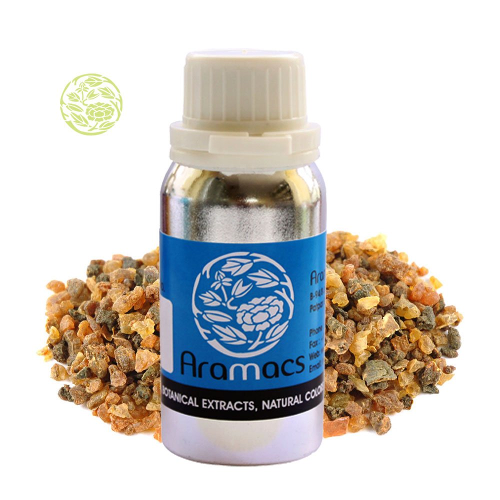 Myrrh Oil - Pure and Natural Essential Therapeutic Grade 50 ML by ARAMACS Herbal & Ayurveda