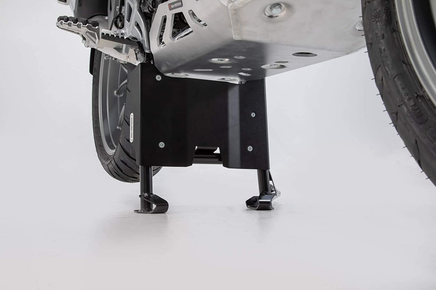 SW-MOTECH MSS.07.781.10301//B Engine Guard Extension for centerstand