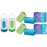 Munchkin Arm and Hammer 2 Count Diaper Bag Dispenser and Bags WITH 72 Bag Refills