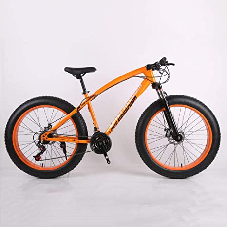 KNFBOK bicicleta mujer paseo Mountain Bike 21Speeds Reducción de ...