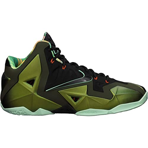 4dcf37095d45 Nike Lebron XI King's Pride Men's Basketball Shoes - Parachute Gold/Arctic  Green/Dark Loden/Black (13.5): Amazon.co.uk: Shoes & Bags