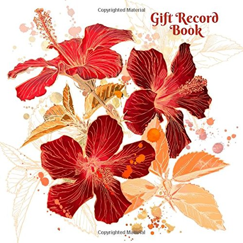 Gift Record Book: All Occasions Present Receipt log Keepsake Registry Recorder Journal (Personal Organizer)